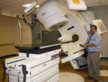 Аппарат для радиотерапии.